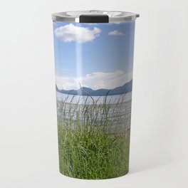CRESCENT BEACH LOW TIDE ORCAS ISLAND Travel Mug