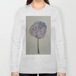 """Hydrangea"" Long Sleeve T-shirt"