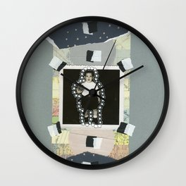 Moon Boy Wall Clock