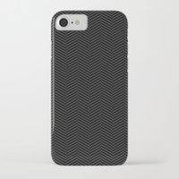 herringbone iPhone & iPod Cases featuring Herringbone by SamAnne