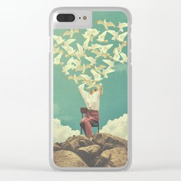 Pigeon Composer Clear iPhone Case