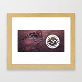 Aya Approved Framed Art Print