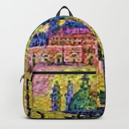 Classical Masterpiece 'The Grand Canal, Venice, Italy' by Paul Signac Backpack