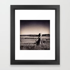 Be Free Part Two Framed Art Print
