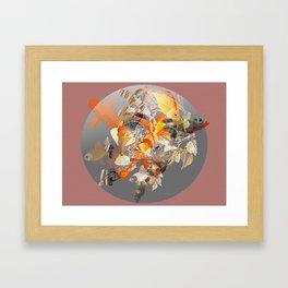 Water Borne Framed Art Print