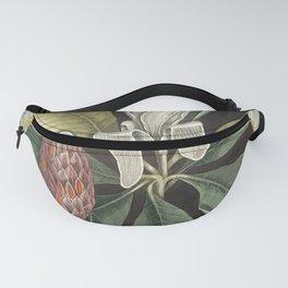 Vintage Summer Jungle Leaves Botanical Fanny Pack