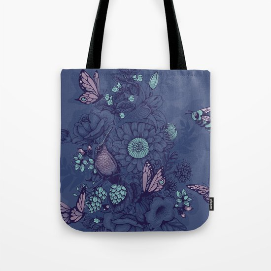 Beauty (eye of the beholder) - neon version Tote Bag