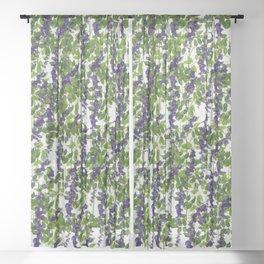 Italian terrace Sheer Curtain