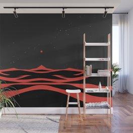Black Dunes II Wall Mural