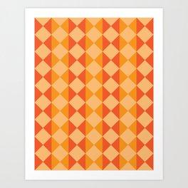 Ribbons II Art Print