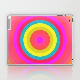 Pink Radial Laptop & iPad Skin