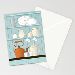 Vintage Kitchen Ilustration Stationery Cards