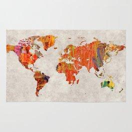 World Map 53 Rug