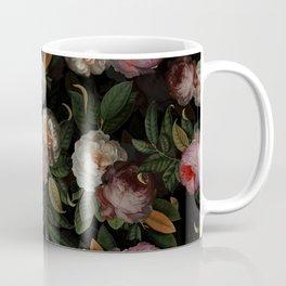 Jan Davidsz. de Heem Vintage Botanical Midnight Rose Garden Coffee Mug