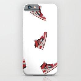 Jordan Offwhite Pattern R iPhone Case
