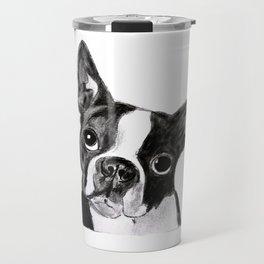 Boston Terrier Travel Mug