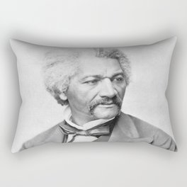 Frederick Douglass Rectangular Pillow