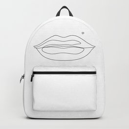 Lips By Lines Backpack