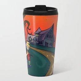Autumn House Travel Mug