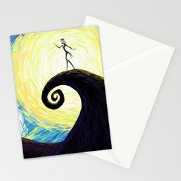 Starry Nightmare Stationery Cards