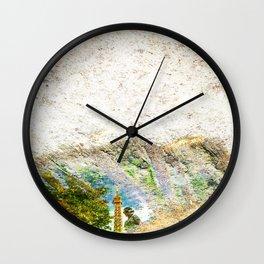 Ei 2 Eye Wall Clock