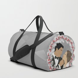 Wedding Wreath Duffle Bag