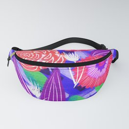 Three Roses Fanny Pack