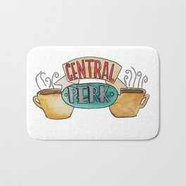 Central Perk from Friends TV Show Bath Mat