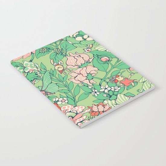 Garden party - sage tea version Notebook