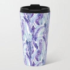 Fern Palm Purple Travel Mug