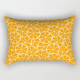 Slices of Oranges Rectangular Pillow
