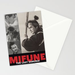 Mifune: The Last Samurai Stationery Cards