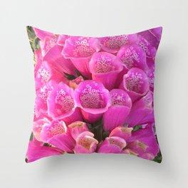 Botanical Florals Zencolor5 Throw Pillow