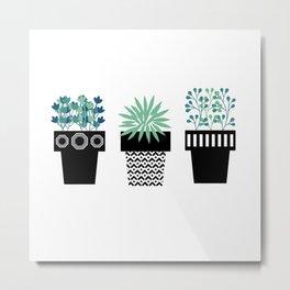 Plants Metal Print