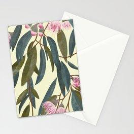 Pink eucalyptus Stationery Cards