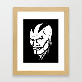 Apokolips Framed Art Print