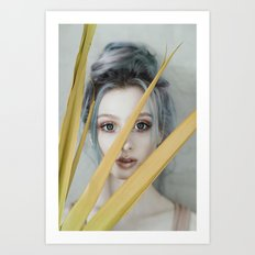 Look through Art Print