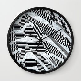 Like Another Jungle Out There Wall Clock