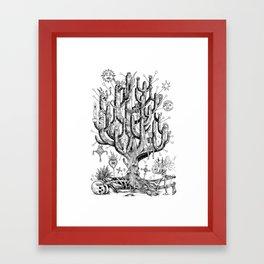 El viaje de Mau Framed Art Print