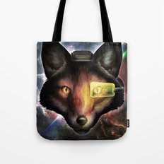 Star Fox McCloud Epic Space Poster Tote Bag