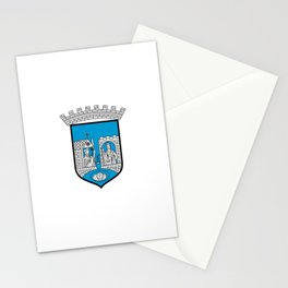 flag of trondheim Stationery Cards