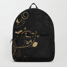 golden romance Backpack
