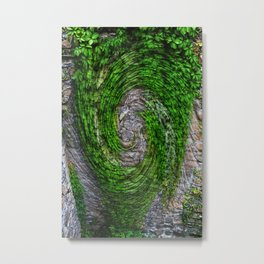 Ivy ivy on the wall... Metal Print