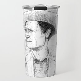 For we have labored long and toilsome Travel Mug