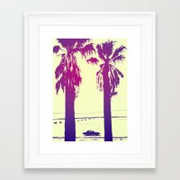 palms Framed Art Prints featuring Palms by Giuseppe Cristiano