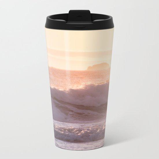 Ocean sunset Metal Travel Mug