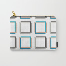 Impossible shapes alternating pattern. Carry-All Pouch