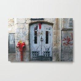 Jerusalem Doors 1 Metal Print