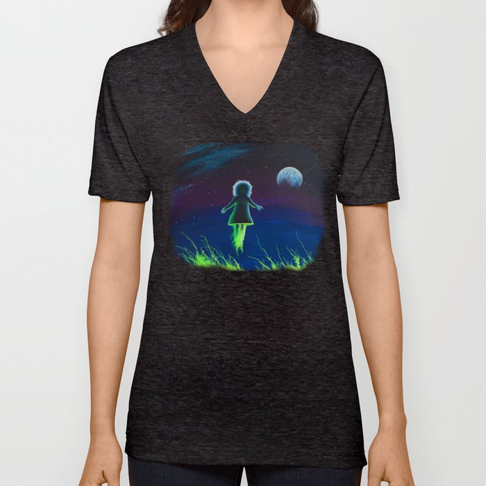 Dream Field Spectre Unisex V-Neck