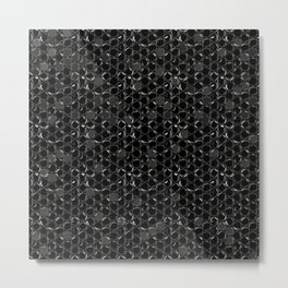 Bubble wrap design Metal Print